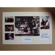Sean Conner Signed and Mounted Movie Set